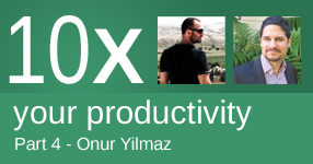 10x your productivity - Part 4 with Onur Yilmaz of Someka Excel Solutions